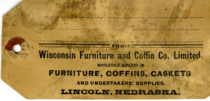 Wisconsin Furniture and Coffin Co  Limited, August 17, 1891 - Kersey